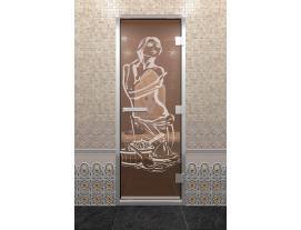 Дверь DoorWood с рисунком Искушение
