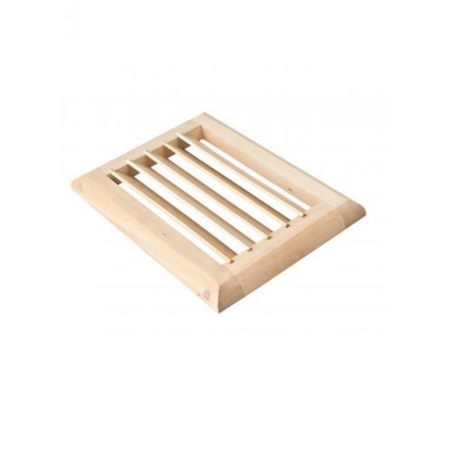 Вентиляционная решетка большая для бани сауны из липы.