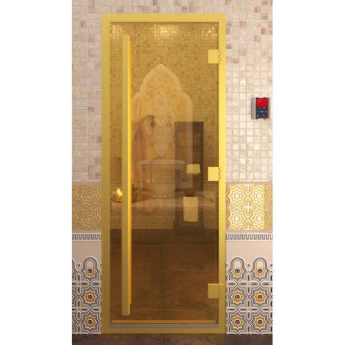 Дверь для турецкой бани, хамам - Doorwood Престиж ЗОЛОТО