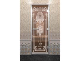 Дверь хамам с рисунком  Египет