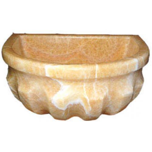 Курна TSL4 ONIX из оникса пристенная модель для турецкой бани