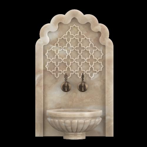 Арка мраморная АМ13, для турецкой бани хамам
