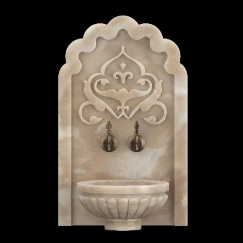Арка мраморная АМ16 для хамама