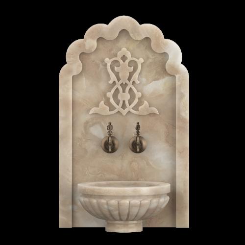 Арка мраморная АМ17 для хамама