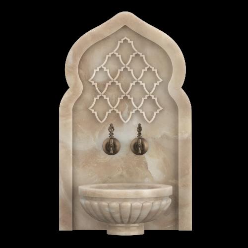 Арка мраморная АМ31 для хамама