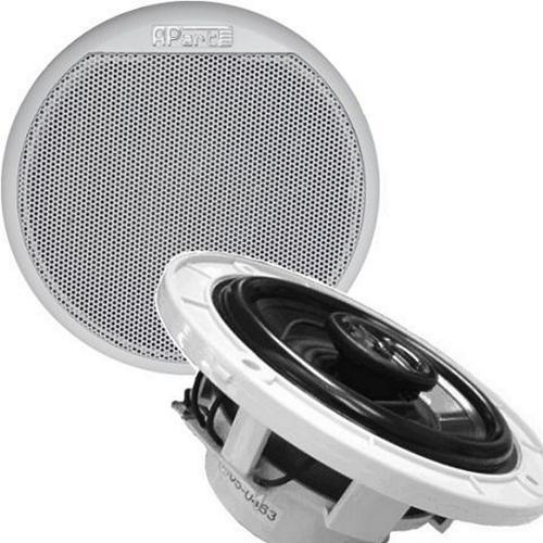 Аудиоколонки влагозащищенные для бани, хамама (двухполосные с НЧ динамиком)