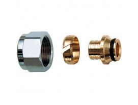 Концовки для металлопластиковых труб с гайкой 16.2х2.6