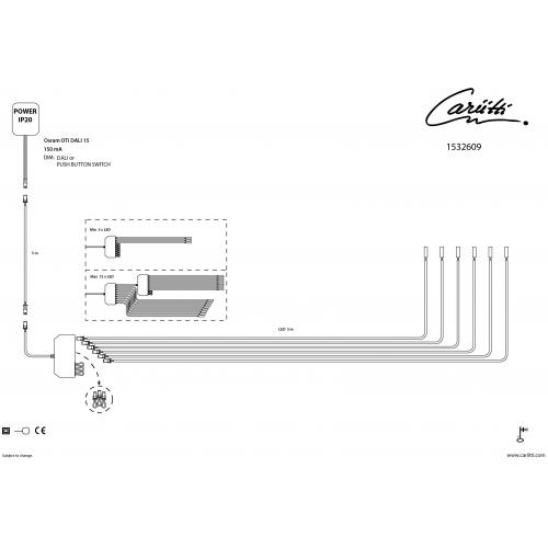 Дополнительный набор светодиодов 3 шт- Паровая баня Led 3000 K  для светильников и хрустальных насадок