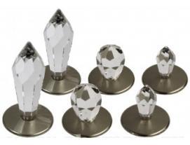 Набор  из 6 хрустальных насадок Cariitti, Crystal Kit