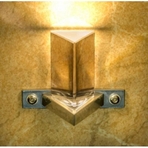 Стильныйсветильник«Premier Decor Prizma» для паровой бани