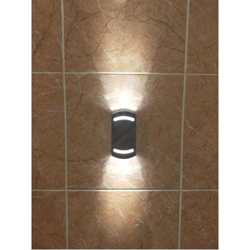 Стильный, современный, настенный светильник Премьер Decor Duo, влагозащищенный для турецкой бани хамам.