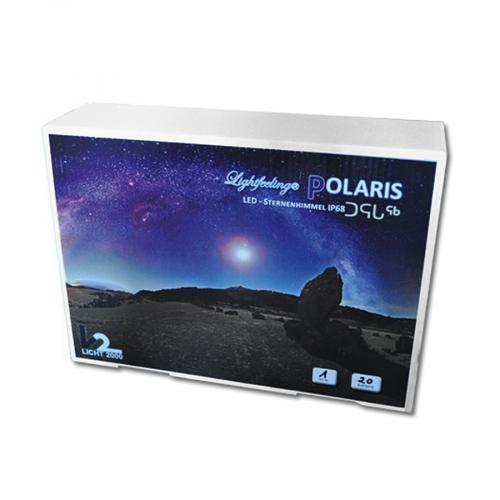 Звездноесветодиодноенебо для сауны Licht-2000 Polaris с двумя типами ламп