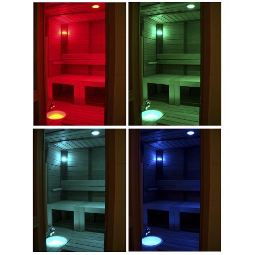 Комплект звездного небаCariitti VPL30С- G211, 11 точек (10+1) для освещения в сауне со сменой цвета