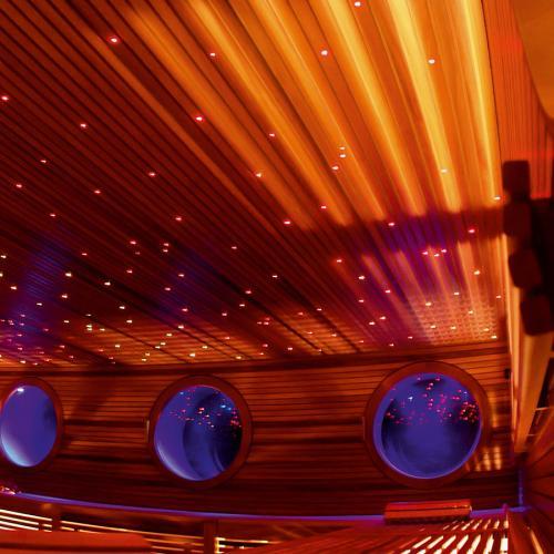 Звездное небо для бани, сауны Licht-2000 Acrylfaser на основе оптоволокна