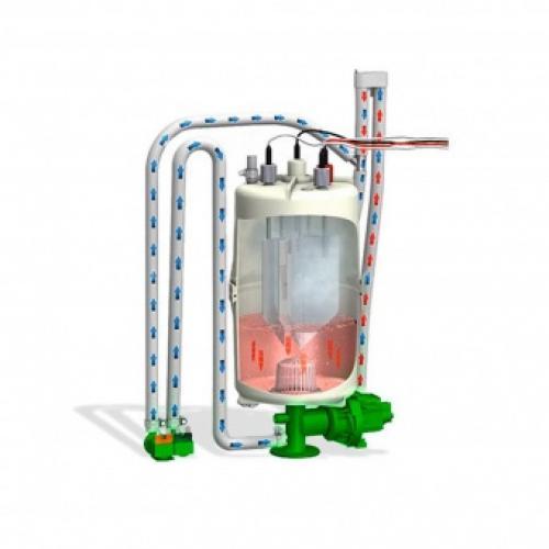 Дополнительная система охлаждения слива воды, Hygromatik HyCool.