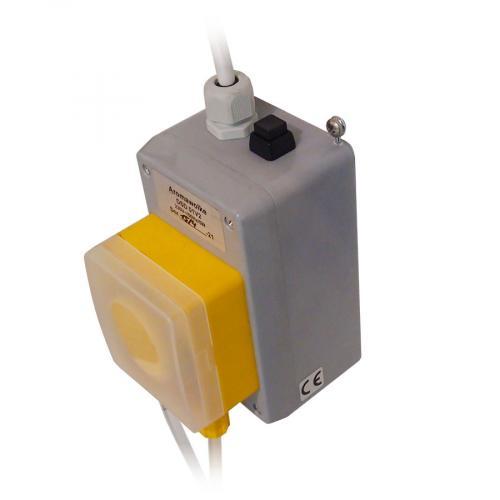 Автоматический  дозирующий насосAromawolke DSD 01 V2 для подачи ароматов в хамам