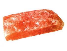 Кирпич из соли Розовый Рустик 20х10х5 см